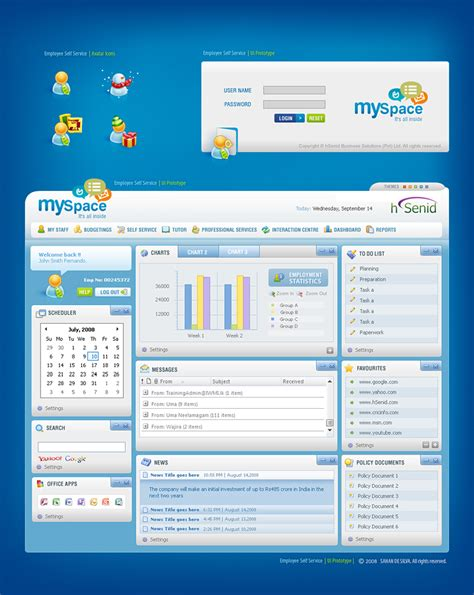 design web application interface web interface 4 by sahandsl on deviantart