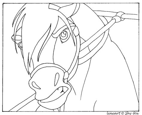 spirit horse herd coloring pages coloring pages