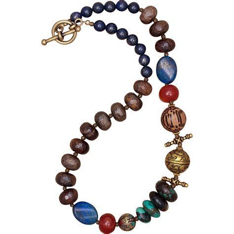top of the world multi gemstone necklace from