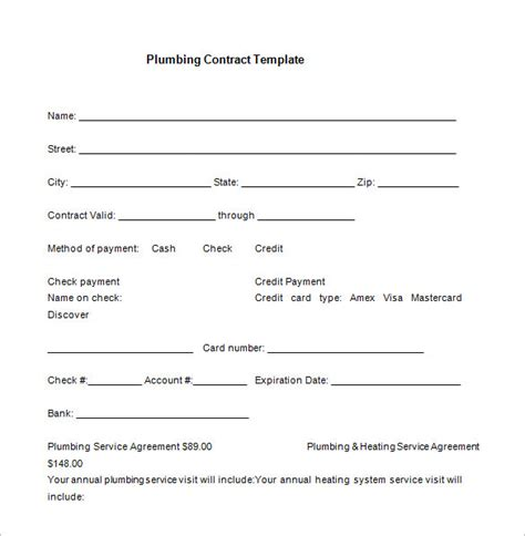 pressure washing contract forms awesome printable blank bid proposal