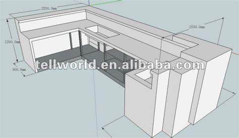 Kitchen Island Countertop Overhang modern commercial bar furniture art design bar counter