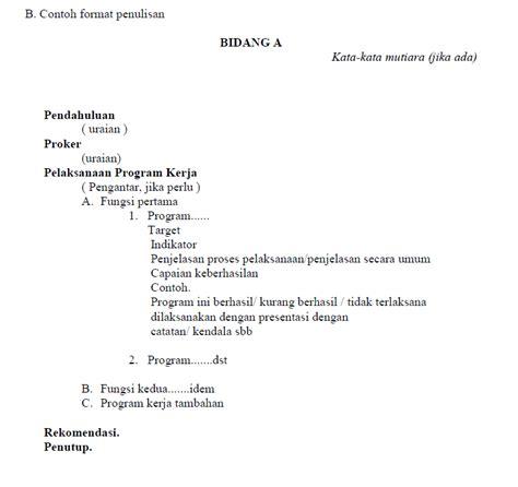 makalah rencana format pendokumentasian contoh format laporan rat koperasi net