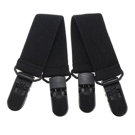 boot straps 2pcs elastic motorcycle biker trouser ends boot straps