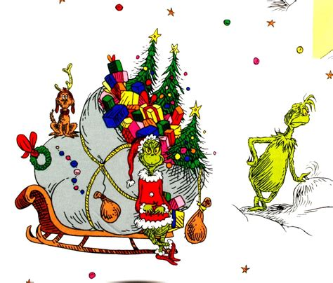 whoville christmas images how the grinch stole whoville characters flannel fabric by seuss enterprises robert