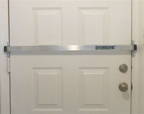 secure door doorricade security door bar most effective and easiest to install ebay