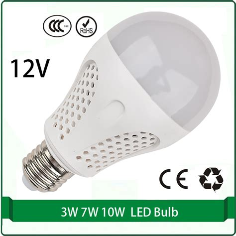 12 Volts Led Light Bulbs 12 Volt Dc Led Bulbs 3w 7w 10w 12 Volt Bulb Solar Panel Bulb 12 Volt Led L Led 12v E27 E26 In