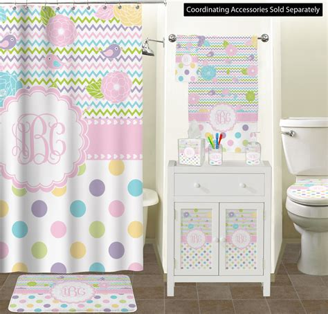girly girl bathroom accessories set personalized