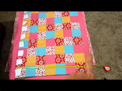 Diy Quilt by Diy Baby Quilt Tutorial Part 1