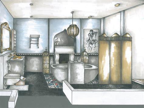 Interior Design Marker Rendering by Interior Render 2010 By Ezeka At Coroflot