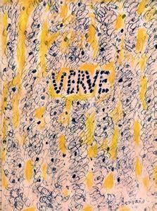 Couverture De Terrasse 1946 by Verve La Plus Revue Du Monde