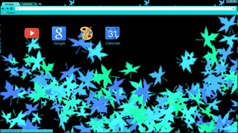 theme chrome panda cool leaves chrome theme by dynamo panda on deviantart