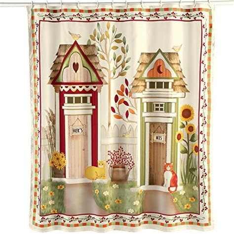 outhouse shower curtain country outhouse bathroom decorating ideas involvery