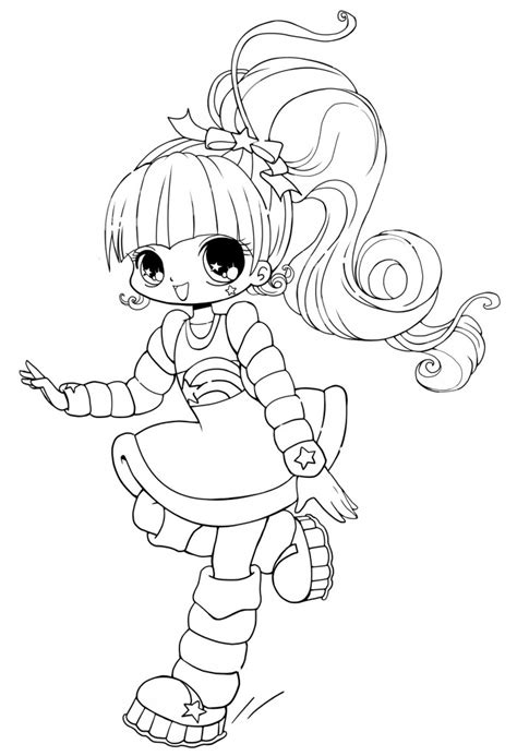 coloring pages chibi free printable chibi coloring pages for