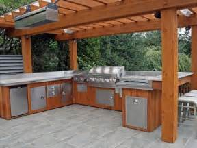 Inexpensive Outdoor Kitchen Ideas by Outdoor Kitchen Country Kitchens Contemporary