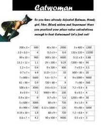 6 Times Table Worksheet Superhero Times Table Tests By Cellerdore Teaching
