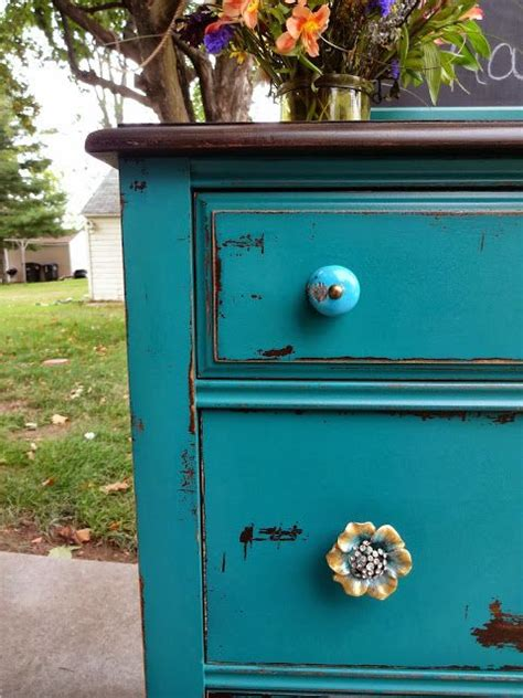 teal dresser on createinspire chippy teal dresser