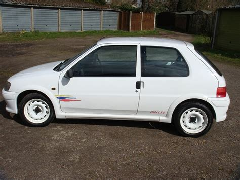 peugeot 106 rallye s2 track day package sold