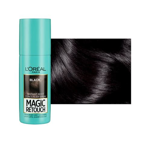Magic Shopaholic by Magic Retouch Root Touch Up Hair Color Spray Black 75ml