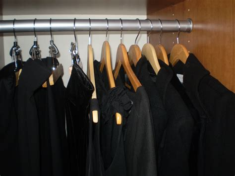 Black Clothes Closet My Black Wardrobe Nothing To Fear But Writing It