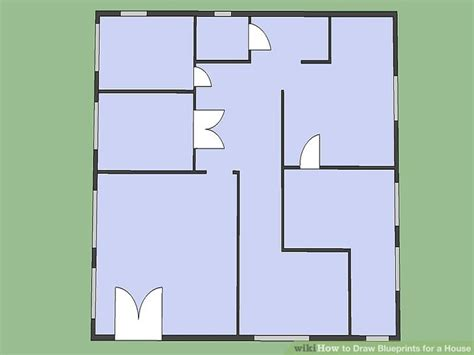 blueprints for a house how to draw blueprints for a house 8 steps with pictures