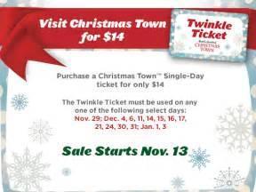 busch gardens williamsburg town twinkle ticket