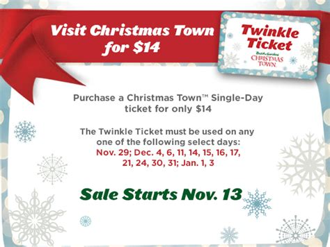 where can i buy tickets to pir christmas lights busch gardens williamsburg town twinkle ticket discount the coupon challenge