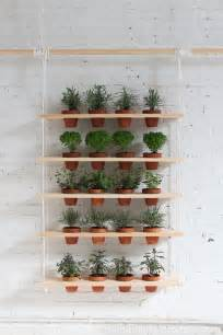 How To Make An Indoor Wall Garden - 65 inspiring diy herb gardens shelterness