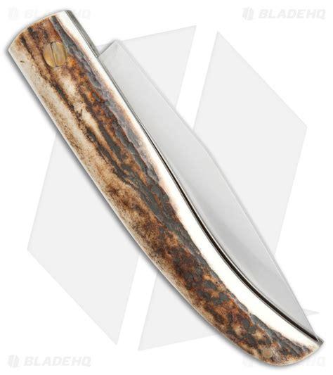 muela pocket knives muela slip joint pocket knife stag horn 3 25 quot satin