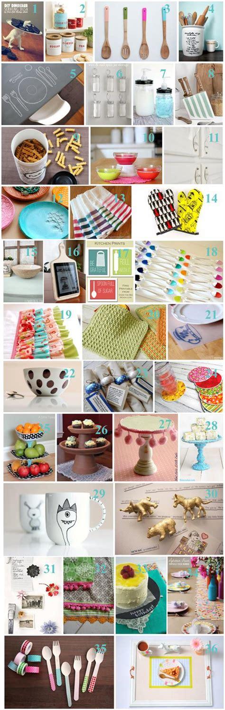 36 fantastic diy kitchen crafts