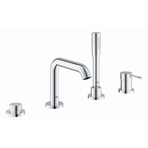 grohe essence kitchen faucet shop grohe essence chrome 1 handle fixed deck mount