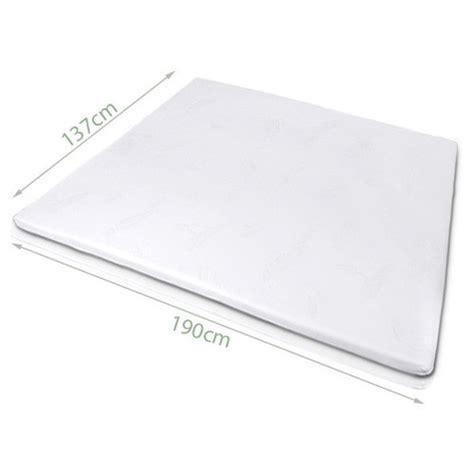 Visco Elastic Memory Foam Mattress Topper New Visco Elastic Memory Foam Mattress Topper Ebay