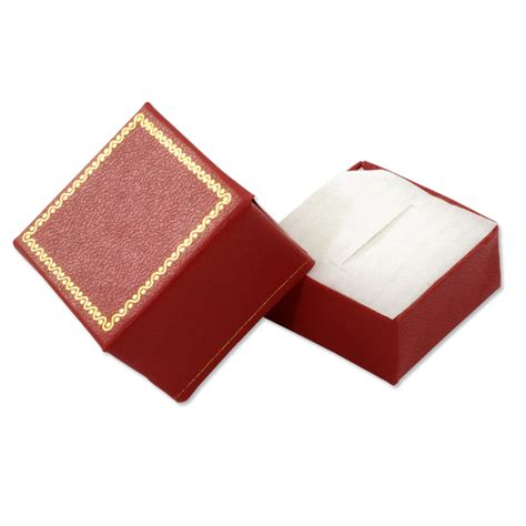leatherette ring box cheap ring boxes
