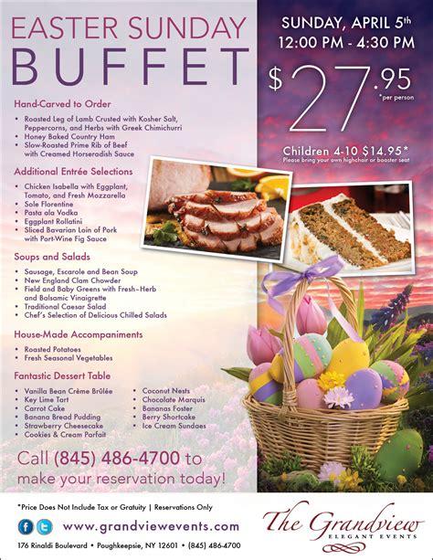 Easter Brunch And Sunday Dinner Easter Sunday Buffet