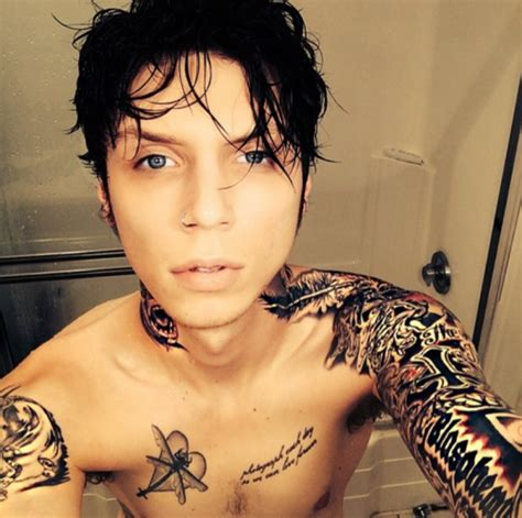 tattoo hot shower andy sixx eyes tumblr