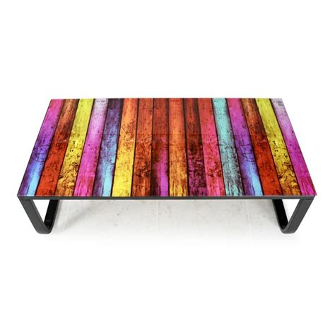Etagere Basse 105 by Table Basse Quot Shadoss Quot 105cm Multicolore