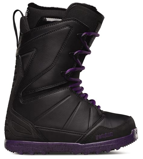thirtytwo womens snowboard boots lashed lace black 32