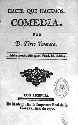 Portadas y manuscritos - Tomás de Iriarte