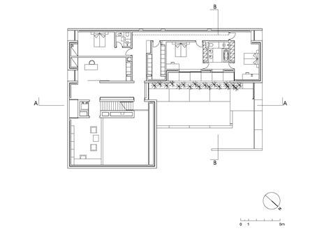 Floor Plan With Dimensions galeria de casa em aldoar topos atelier de arquitectura 12