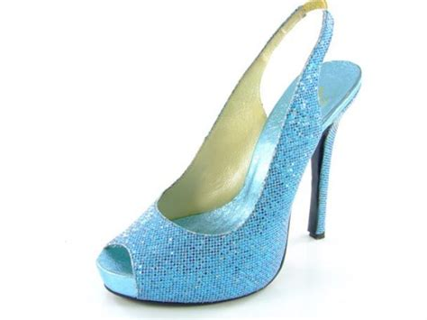 light blue evening shoes blue low heel wedding shoes