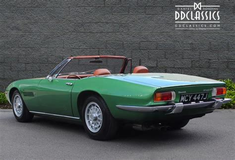 1971 maserati ghibli 4 9 ss spyder lhd for sale opulent cars
