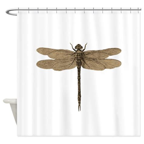 dragonfly kitchen curtains dragonfly vintage shower curtain by doodlefly