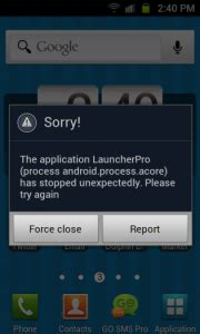 android themes error fix quot force close quot android apps error techinvicto