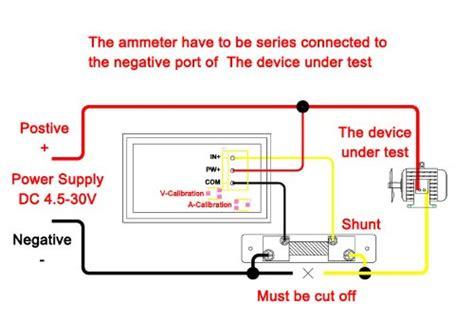 drok digital multimeter dual led display voltmeter dc 4 5v
