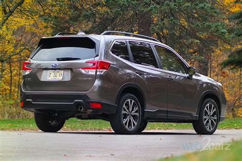 subaru forester limited review webcarz
