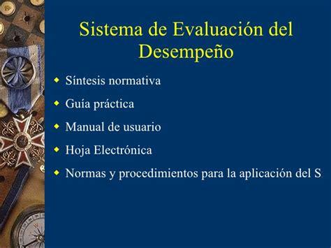 florida evaluacin del desempeo sistema de evaluaci 243 n del desempe 241 o