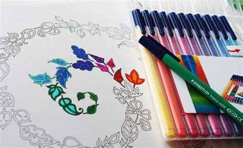 anti stress colouring book and pens anti stress coloring books are s new answer to