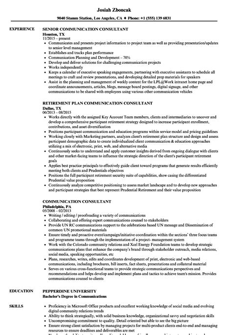 Communication Skills Resume Exle