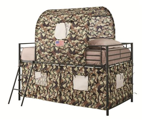 Camo Bunk Bed Camouflage Tent Loft Bed