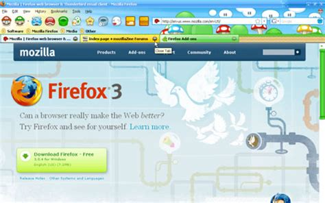 Grab A Mario Bros Theme For Your Firefox Browser by Mushroomkingdom Geiler Firefox Theme F 252 R Mario