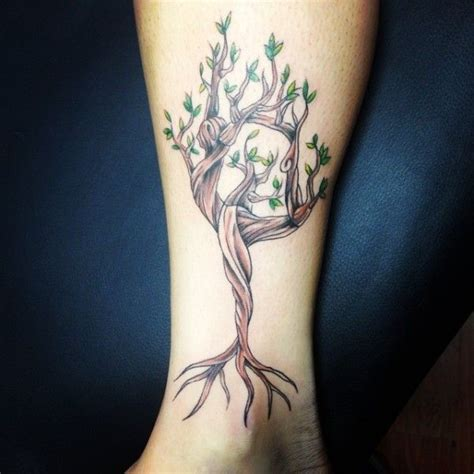 yogi tattoo tree